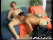 Awesome blonde MILF gets aroused for some hot action by