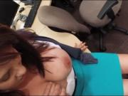 Busty amateur milf banged to earn money