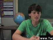 Twink video Jeremy Sommers is seated at a desk and an i