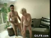 Granny Invites Him In For Some Fun