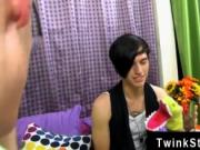 Gay guys Taylor Lee and Jae Landen are 2 college aged t