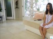 Hot and a petite Jasmine Summers does an audition and g