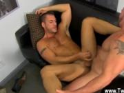 Hot twink Horny Office Butt Banging