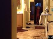 Wife Watched In The Bathroom