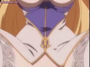 Magic anime spreading her cunt