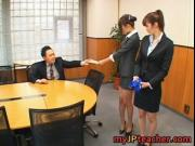 Junna Aoki and Erika Kirihara Naughty teachers having s