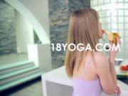 Spinner Teen Kitchen Yoga Fuck