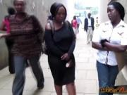 Couple of young chubby lesbians from Africa make love i
