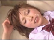 Japanese short hair cute sex5