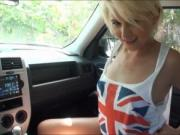 Pretty amateur blonde teen girl Dani Desire railed in p