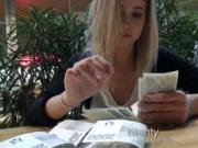Czech girl Violette Pink railed and cum on glasses for