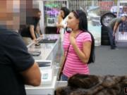 Latina banged by pawnshopkeeper for cash