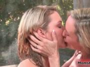 Horny milf gets caught fucking a young guy his girlfrie