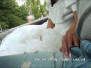 Soon to be bride Amirah Adara pussy nailed by stranger