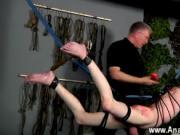 Gay cock Master Sebastian Kane has the juicy Aaron Auro