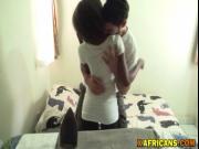 African babe fucked interracially