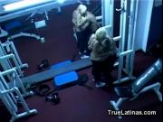 Latina Gets Fucked by Gym Trainer