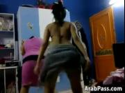Two Arab Ladies Dancing Softcore