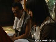 Haru Sakuragi Asian schoolgirl has sex 1 by JPschoolGir
