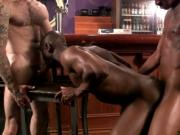Tyson Tyler: Big Black Butt BushWhacked Interracial Thr