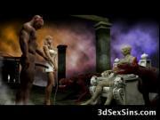 3D Satan and Demons Fuck Babes!