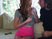 Tight girl Alex Tanner twat ripped good by naughty dude