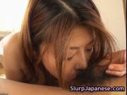 Alice Hoshi uses her perfect lips to suck a big dick 5