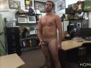 Pervert dudes fucked hairy ass guy