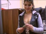 Czech babe Lady D gets fucked for cash