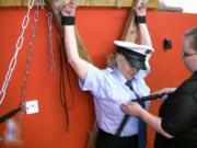 sexy mature police seduced by prisoner and it's rubbed