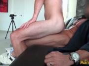 Aroused hot man Mike blows schlong and getting boned st