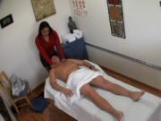 Babe enjoys making dirty massage