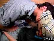 Twink sex Horny chav youngster Leo Foxx has no time to