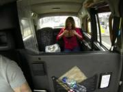 Chubby busty amateur anal banged in cab