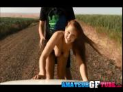Mya Lane Having Sex On A Dirt Road