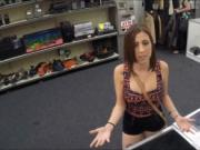 Girl fucks pawn man to pay for her chain she pawned 2 m
