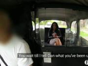 Naughty amateur fucks taxi driver