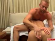 Andy Taylor receives a massive cock in his tight buttho