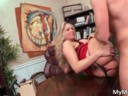 Super sexy blond MILF Julia Ann getting pussy pounded h