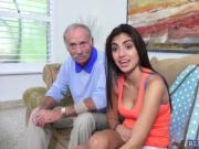 Sweet sexy chick Michelle Martinez loves a big cock