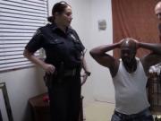 4 girls 1 guy police Milf Cops