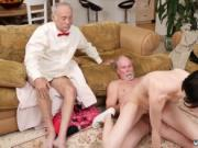 Old man hd She even gets arse poked until the guys give