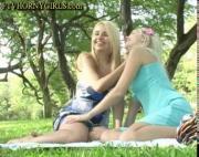 Blonde Teens Public Sex In Park