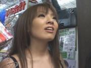 Hitomi Tanaka Hot Asian babe shows off her huge tits 3