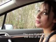 French slut Nikita Bellucci sucks and slammed in the ca
