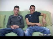 Broke straight guys Alec & Hayden having gay sex 1 by G