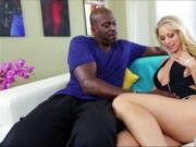 Milf Katie gets her pussy stretched by a monster cock