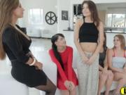 Super Horny Young Lesbians Are Having Mind-Blowing Orgy