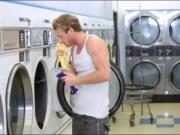 Laundry day turns to hardcore fucking with teen besties