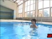 Japanese Cutie Swims Softcore